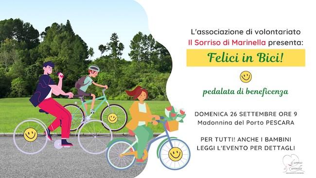 felici in bici 26 settembre 2021