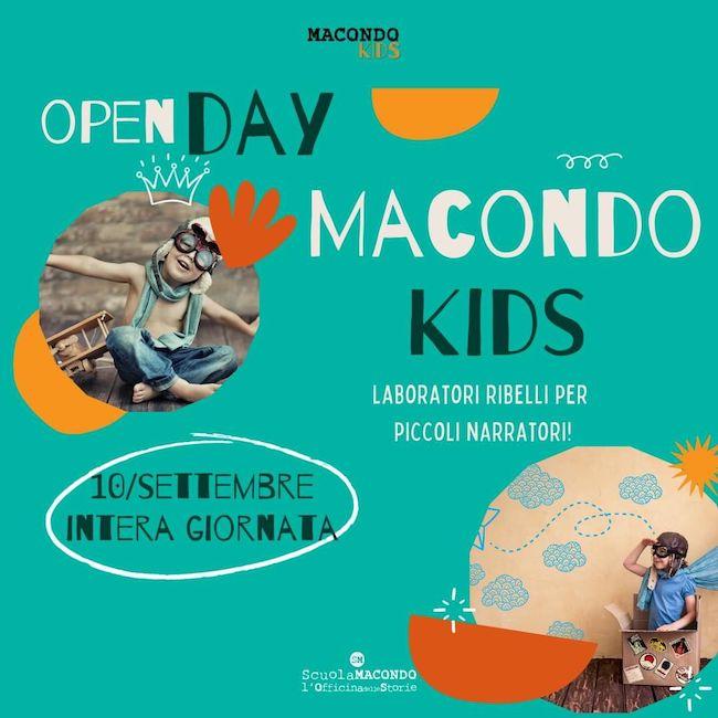 locandina macondo kids