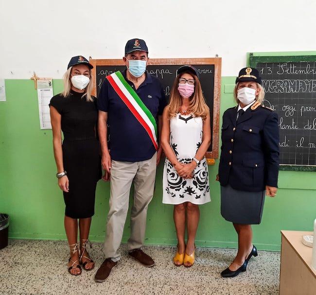 fossacesia polizia nella primaria