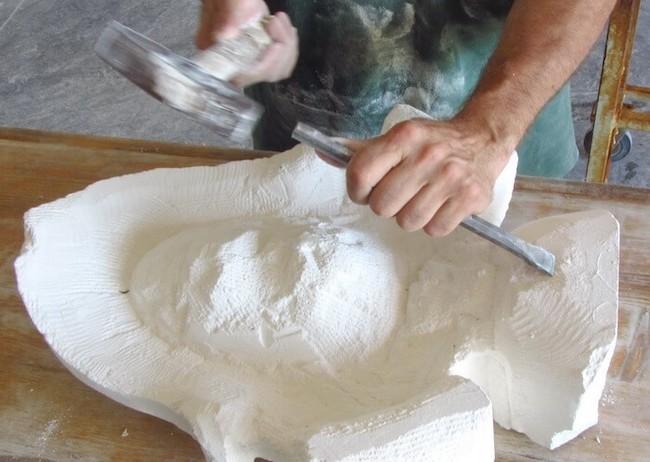 scalpello lavorazione della pietra