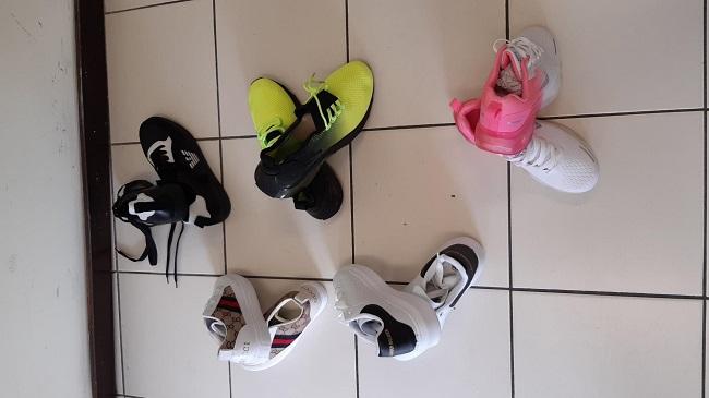 sneakers contraffatte