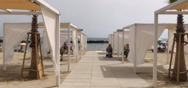 spiaggia disabili montesilvano