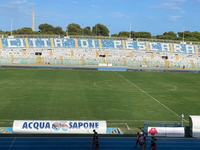 stadio adriatico campo da gioco
