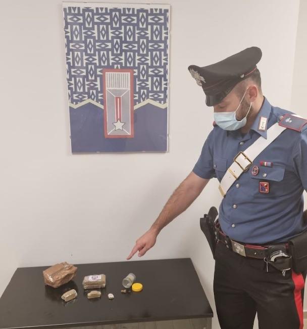 stupefacente sequestrato dai carabinieri