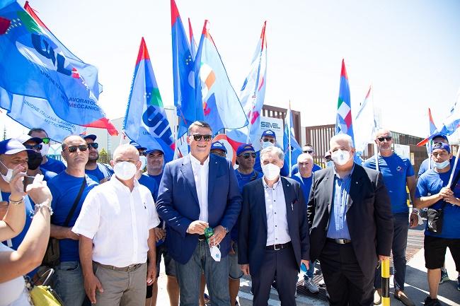 Da sinistra Manzi Bombardieri Palombella e Lombardo (1)