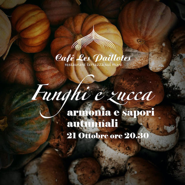 funghi e zucca 21 ottobre 2021