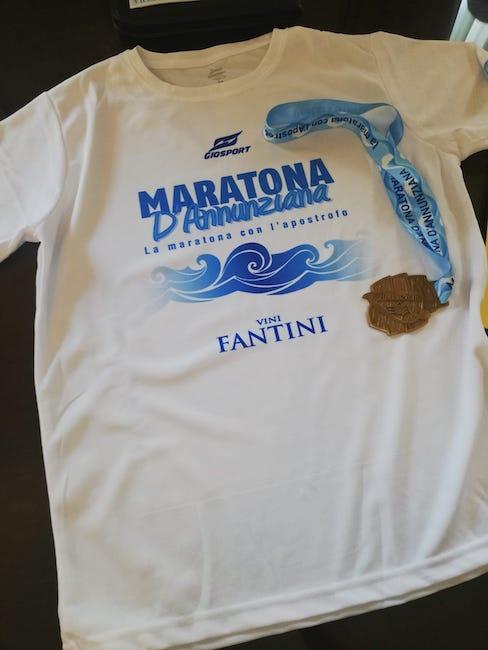 maratona dannunziana maglia
