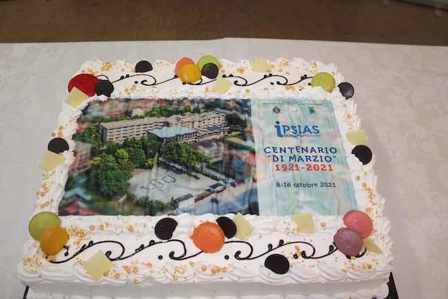 torta 100 anni di marzio